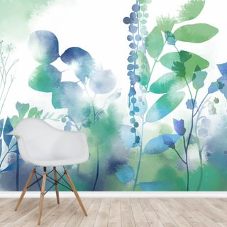 Intense Organic Spring Wallpaper Wall Murals