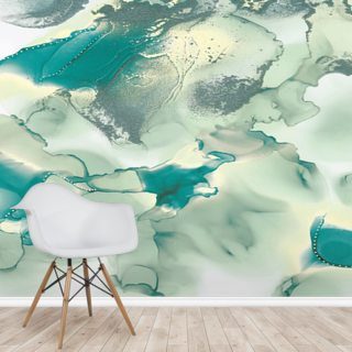 Green Mountains Wallpaper Wall Murals