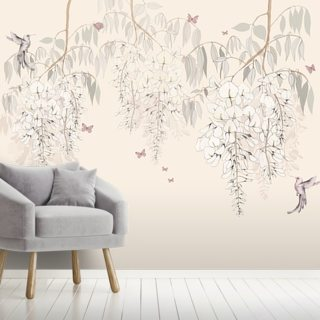 Wisteria Lane Wallpaper Wall Murals