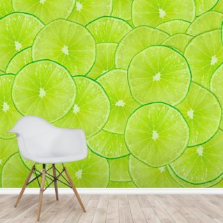 Limes Wallpaper Wall Murals