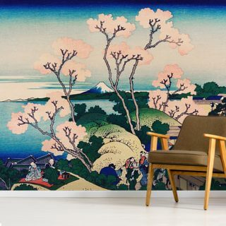 Goten Yama Hill Shinagawa Wallpaper Wall Murals