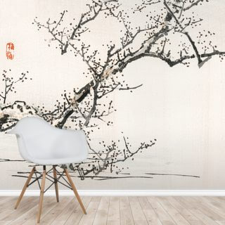 Tree Against Water Wallpaper Wall Murals