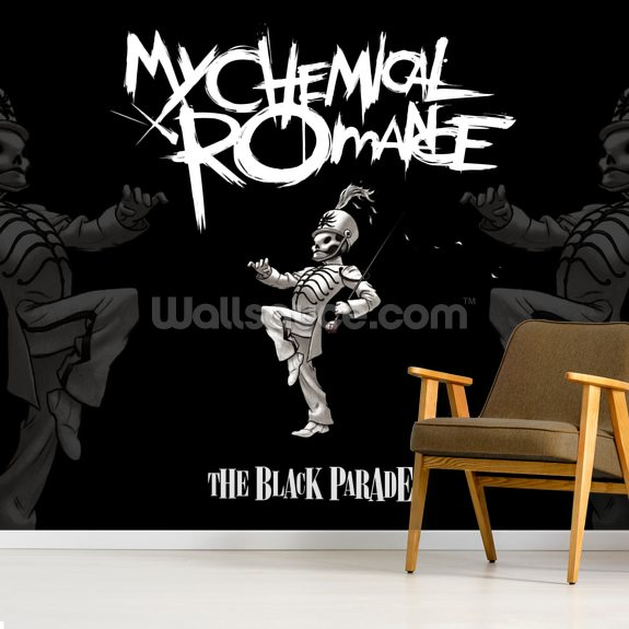 My Chemical Romance The Black Parade mural wallpaper room setting