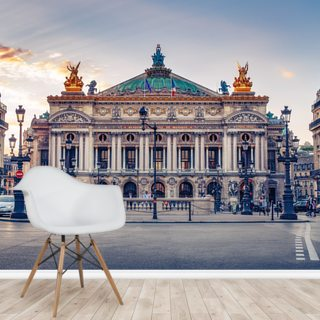 Palais Garnier at Sunset
