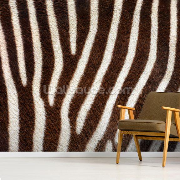 Brown Zebra Print