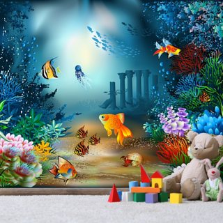 Underwater World Wallpaper Wall Murals