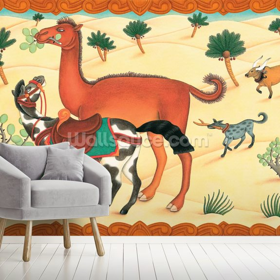 Camel's Humph! wall mural room setting