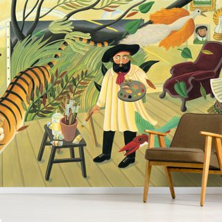 Henri Surprised! Wallpaper Wall Murals