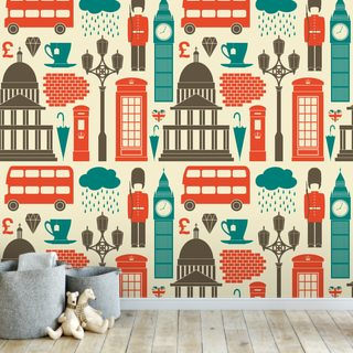 London Background Wallpaper Wall Murals