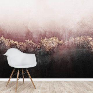 Pink Sky Wallpaper Wall Murals