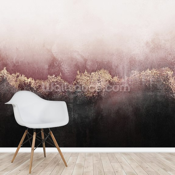 Pink Sky wallpaper mural room setting