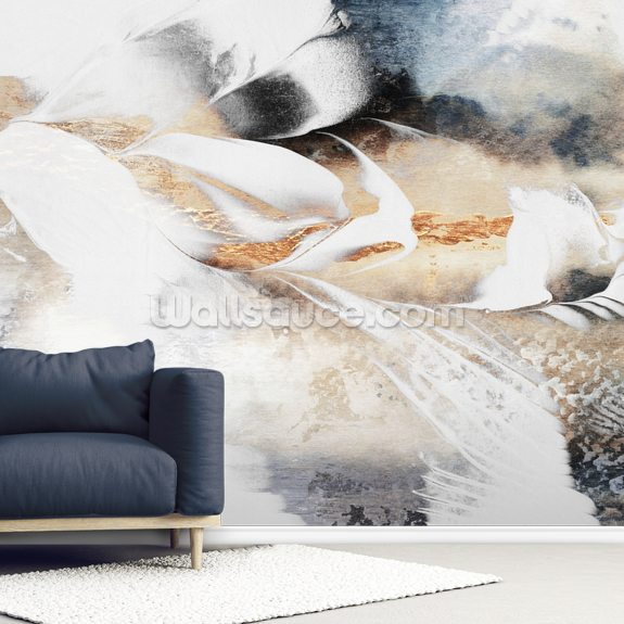 Soothe Your Soul mural wallpaper room setting
