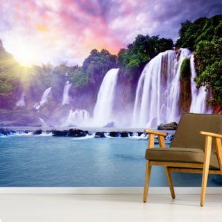 Banyue Waterfall Wallpaper Wall Murals