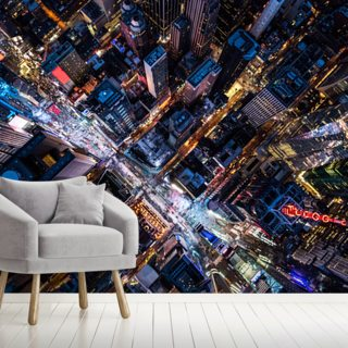 Times Square in New York City Wallpaper Wall Murals