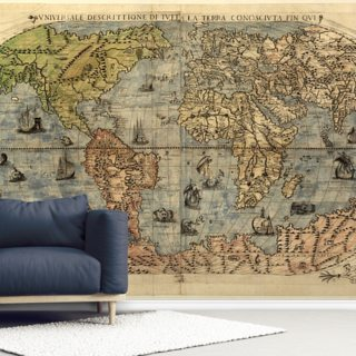 Map of Ancient World Wallpaper Wall Murals