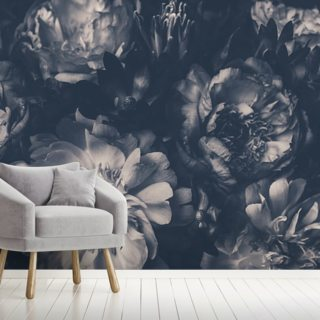 Vintage Bouquet Wallpaper Wall Murals