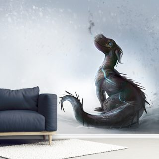 Baby Dragon Wallpaper Wall Murals