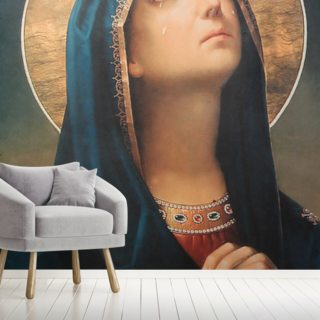 Antique religious icon Wallpaper Wall Murals