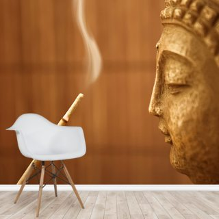 Zen Temple - Smoke Meditation with Buddha