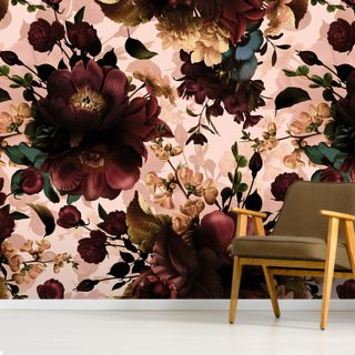 Gothic Bouquets Wallpaper Wall Murals