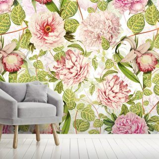 Pastel Pink Dreams Wallpaper Wall Murals