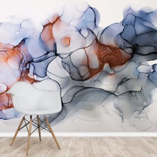 Stormy Clouds Wallpaper Wall Murals