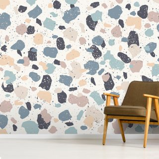 Speckled Pastel Wallpaper Wall Murals
