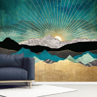 Peacock Vista Wallpaper Wall Murals