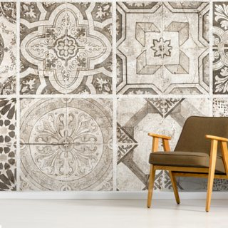 Vintage Tones Wallpaper Wall Murals