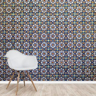 Arabic Tiles Wallpaper Wall Murals