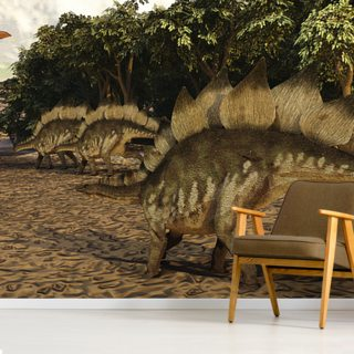 Stegosaurus Wallpaper Wall Murals