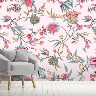Rasi Pink Wallpaper Wall Murals