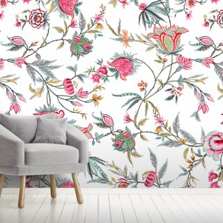 Rasi White Wallpaper Wall Murals