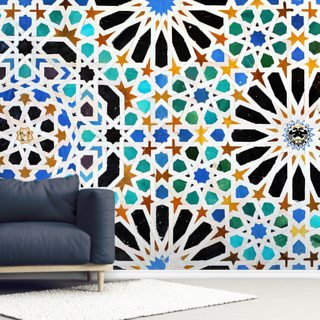 Spanish Tiles Wallpaper Wall Murals