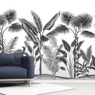 Black and White Jungle