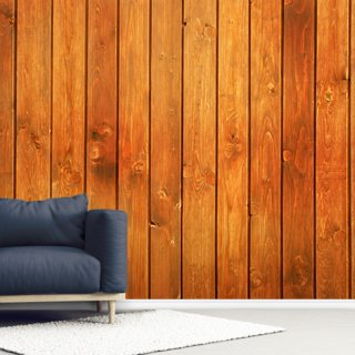 Wood Texture Golden Finish Wallpaper Wall Murals