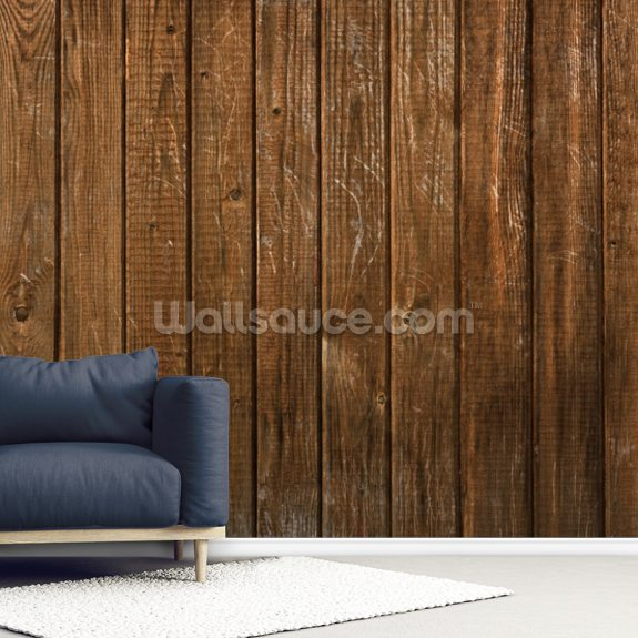 Wood Texture Natural Finish wallpaper mural room setting