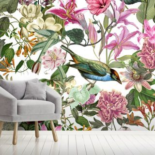 Exotic Bird Floral