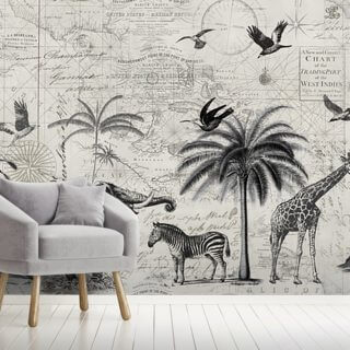 Wild Animals Journey Wallpaper Wall Murals