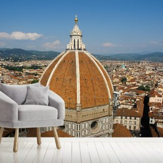 Florence Skyline Wallpaper Wall Murals