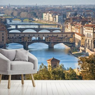 Ponte Vecchio, Florence Wallpaper Wall Murals