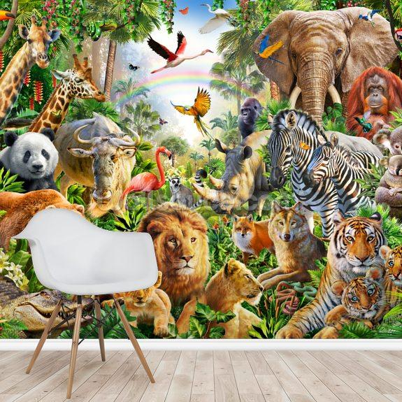 Global Animals Wallpaper | Wallsauce US