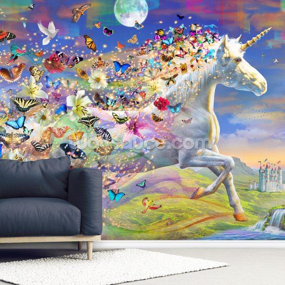 unicorn solo dream wallpaper
