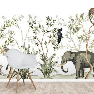 Exotic Wood Wallpaper Wall Murals