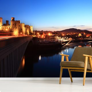 Conwy Castle Wallpaper Wall Murals