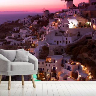 Oia Wallpaper Wall Murals