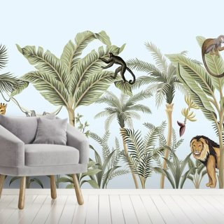 Creatures of the Jungle Wallpaper Wall Murals