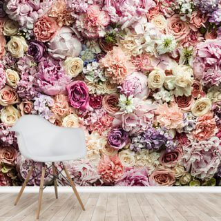 Floral Paradise Wallpaper Wall Murals