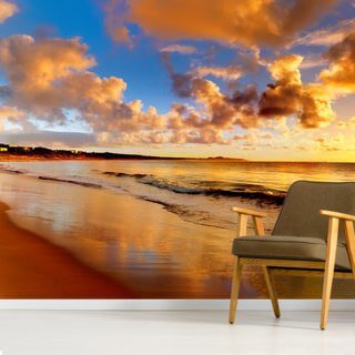 Stunning Sunset Sky Wallpaper Wall Murals