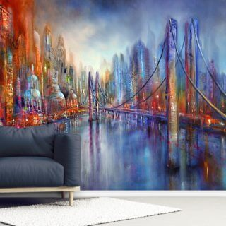 On the Road Wallpaper Wall Murals